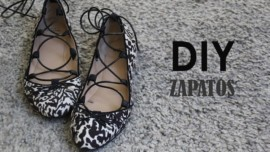 DIY Zapatos customizados con tiras