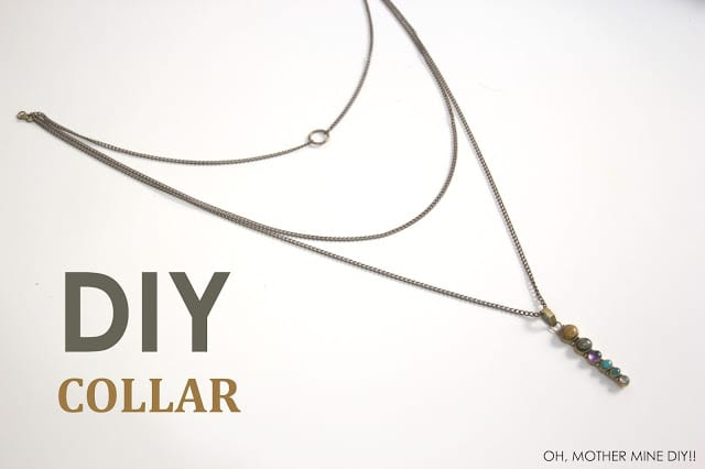 DIY Collar varias alturas