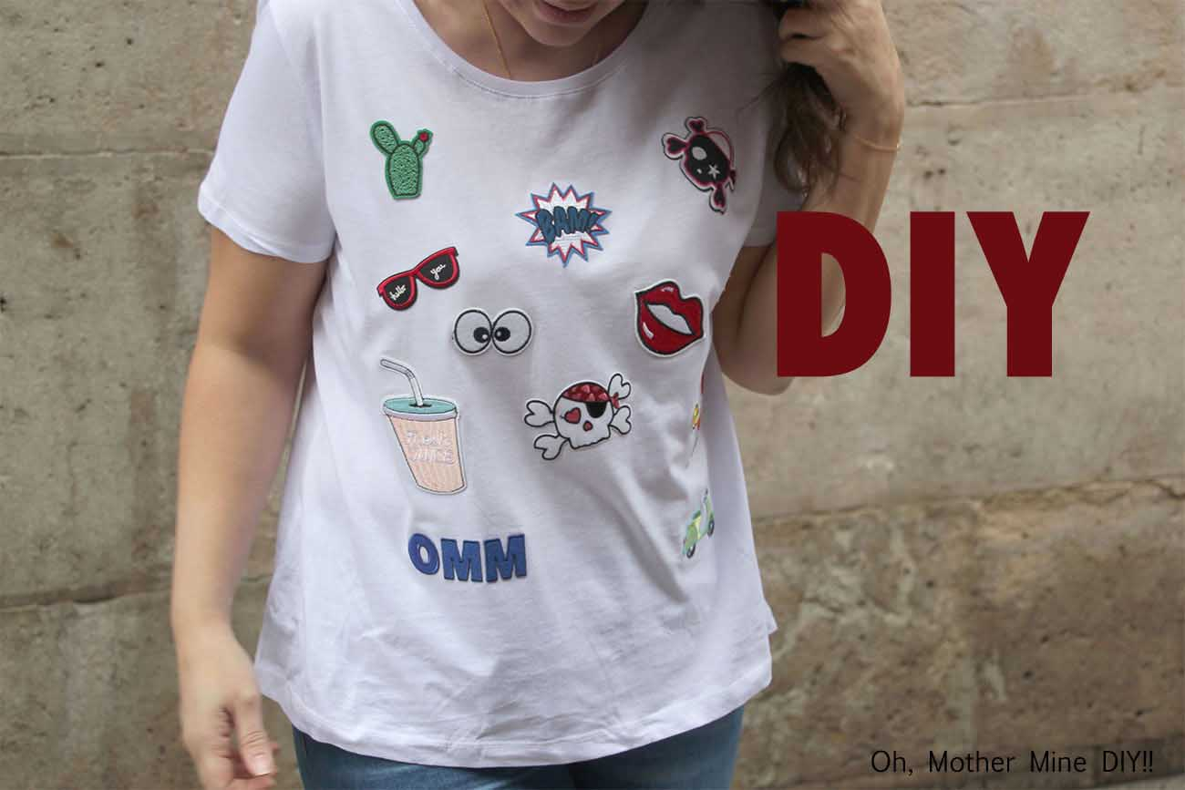 DIY Camiseta con parches