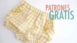 Patrones gratis de costura: conjunto de blusa y pantalón. PARTE 2: PANTALÓN