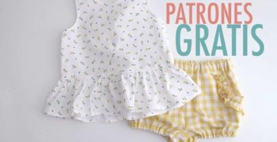 Blog De Costura Patrones Gratis De Ropa Para Bebes Mujer