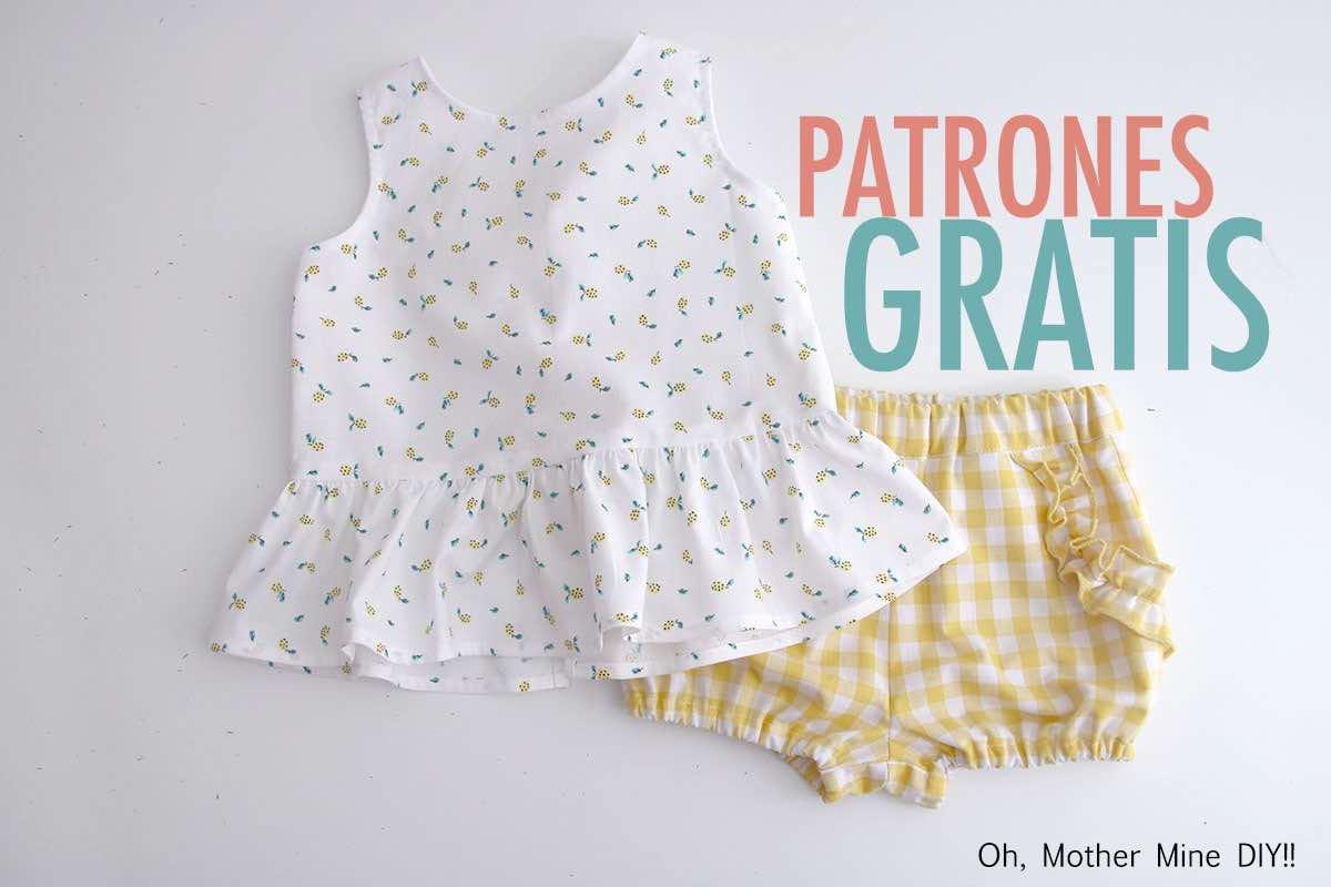 Patrones gratis de costura: conjunto de blusa y pantalón. PARTE 1: BLUSA en varias tallas