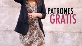 Patrones gratis de costura: vestido recto de tirantes para mujer