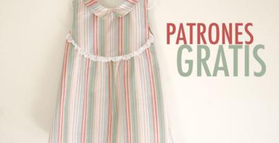 Costura para niños: vestido con canesú para niños (patrones gratis)